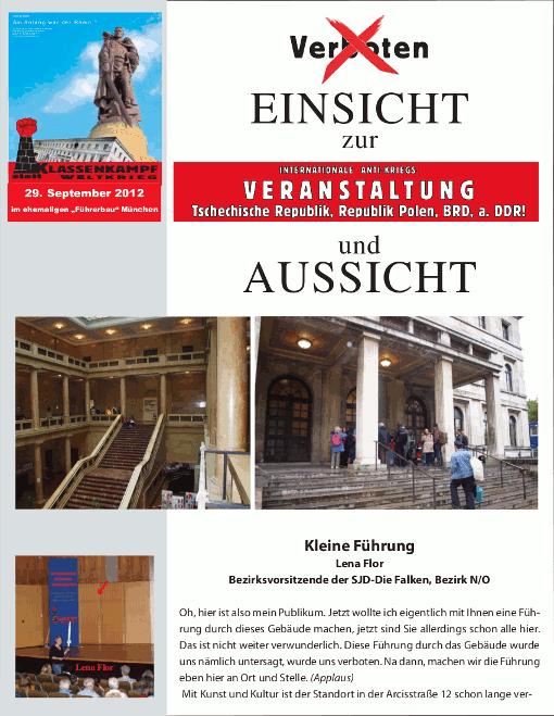 Broschüre München
